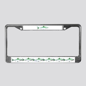 Pacific Sardine License Plate Frame