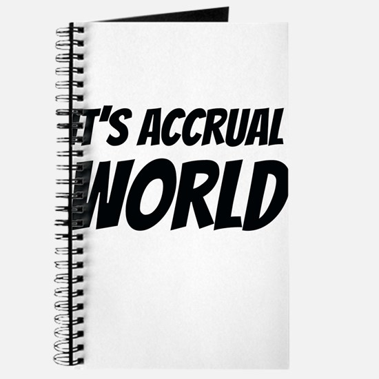 It's accrual world Journal