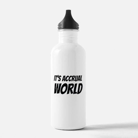 It's accrual world Water Bottle