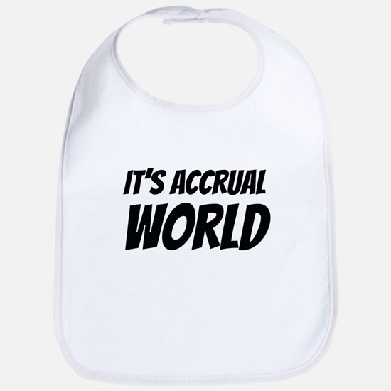 It's accrual world Bib