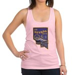 USS NEVADA Racerback Tank Top