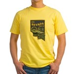 USS NEVADA Yellow T-Shirt