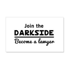 Join the darkside lawyer Wall Decal