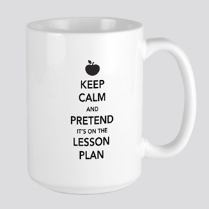 keep calm pretend lesson plan Mugs