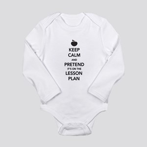 keep calm pretend lesson plan Body Suit