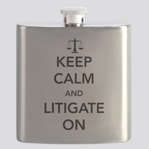 Keep calm and litigate on Flask