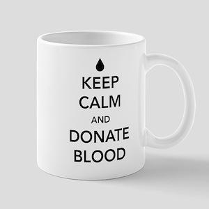 Keep calm and donate blood Mugs