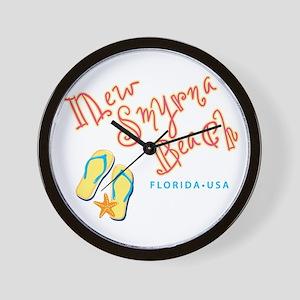 New Smyrna Beach - Wall Clock