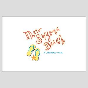 New Smyrna Beach - Large Poster