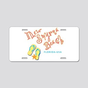 New Smyrna Beach - Aluminum License Plate