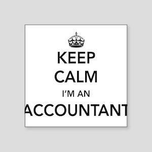 Keep calm i'm an accountant Sticker