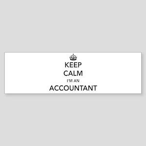 Keep calm i'm an accountant Bumper Sticker