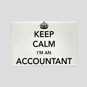 Keep calm i'm an accountant Magnets