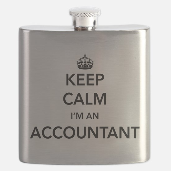 Keep calm i'm an accountant Flask
