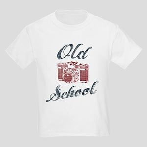 Old School photography Kids Light T-Shirt