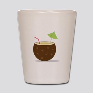 Coconut Cocktail Shot Glass