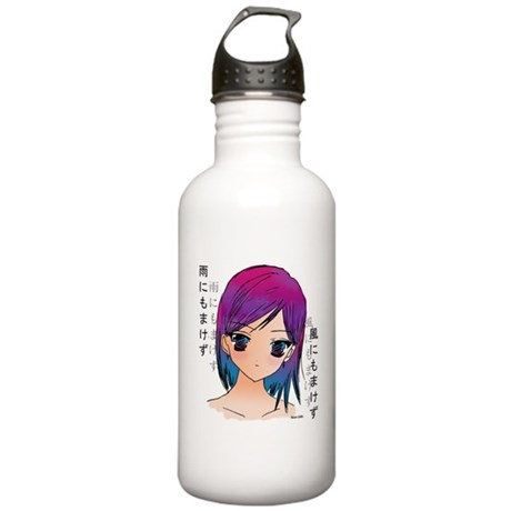 anime girl water bottle by neoliliillusion