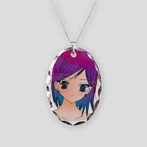 Anime girl Necklace