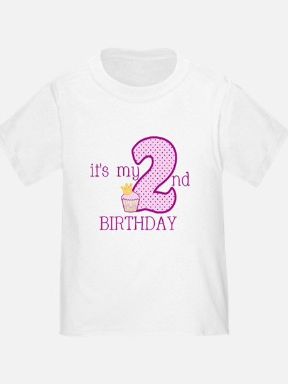 It's My 2nd Birthday T-Shirt