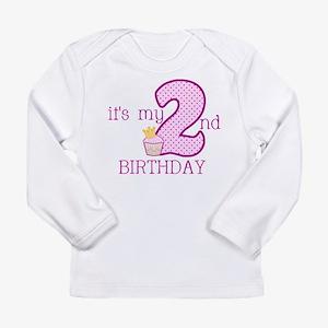It's My 2nd Birthday Long Sleeve T-Shirt