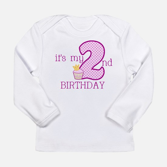 It's My 2nd Birthday Long Sleeve T-Shirt