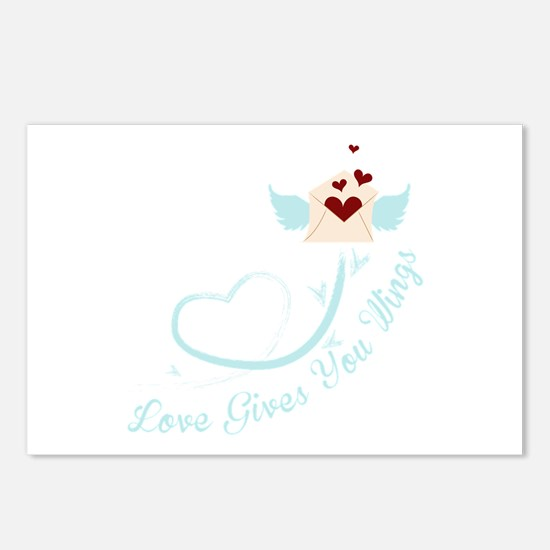Love Gives You Things Postcards (Package of 8)