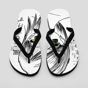 Anime girl 2 Flip Flops
