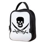 FWskullnswords_BlkCPDark Neoprene Lunch Bag
