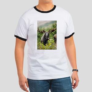 Mr Moose Sticking Tongue Out T-Shirt