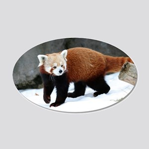 Red Panda Wall Decal