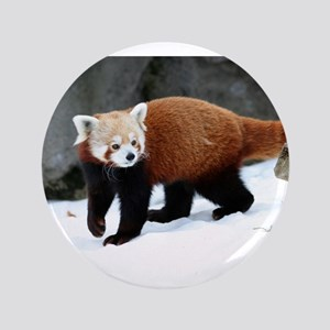 "Red Panda 3.5"" Button"