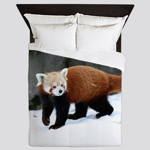 Red Panda Queen Duvet