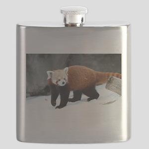 Red Panda Flask