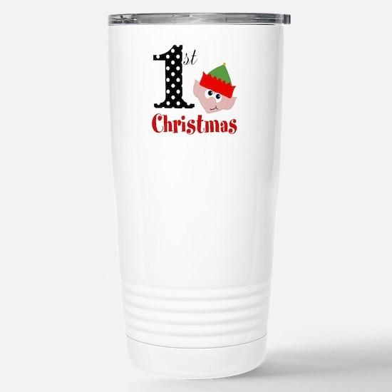 1st First Christmas Travel Mug