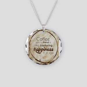 COFFEE WITH A FRIEND Necklace