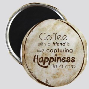 COFFEE WITH A FRIEND Magnets