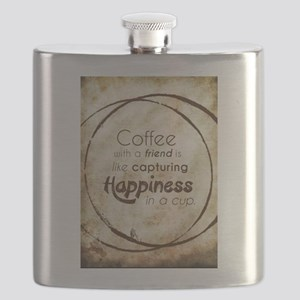 COFFEE WITH A FRIEND Flask