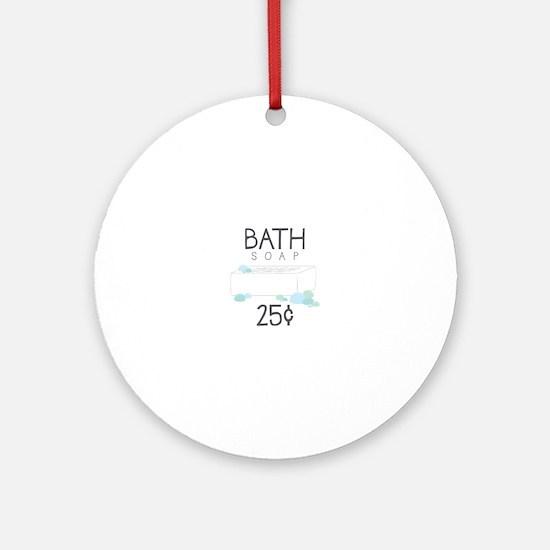 Bath Soap Ornament (Round)