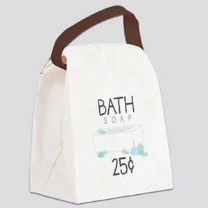 Bath Soap Canvas Lunch Bag