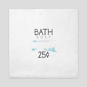 Bath Soap Queen Duvet