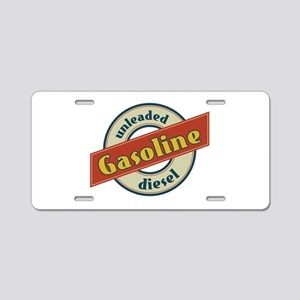 Unleaded Gasoline diesel Aluminum License Plate