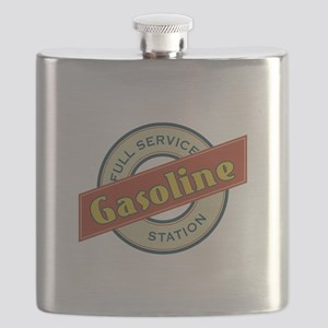 Full Service Gasoline Station Flask