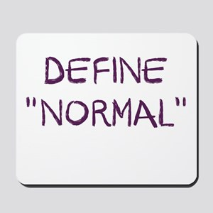 Define Normal Mousepad