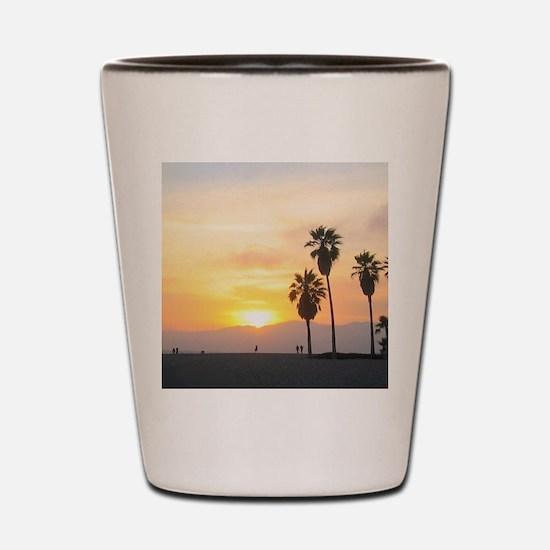 Cute Venice beach Shot Glass