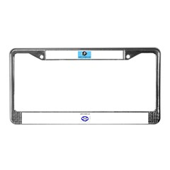 HAPPY FATHER'S DAY -#1 DAD License Plate Frame
