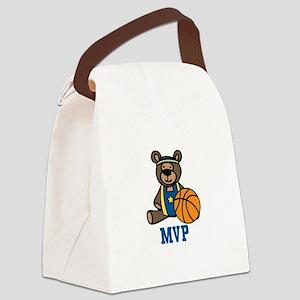Teddy Bear MVP Canvas Lunch Bag