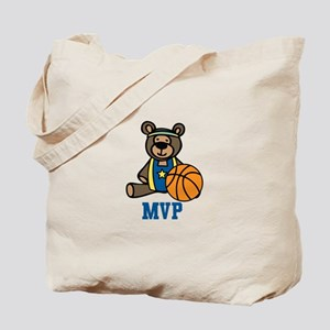 Teddy Bear MVP Tote Bag