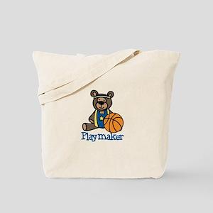 Playmaker Teddy Tote Bag