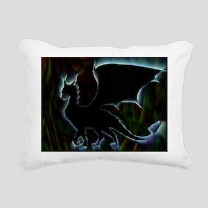 Dragon Aura Rectangular Canvas Pillow
