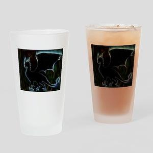 Dragon Aura Drinking Glass